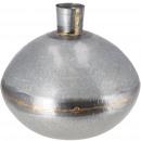 groothandel Bloemenpotten & vazen: Metalen vaas Dione, D30cm, H27cm, opening: ...